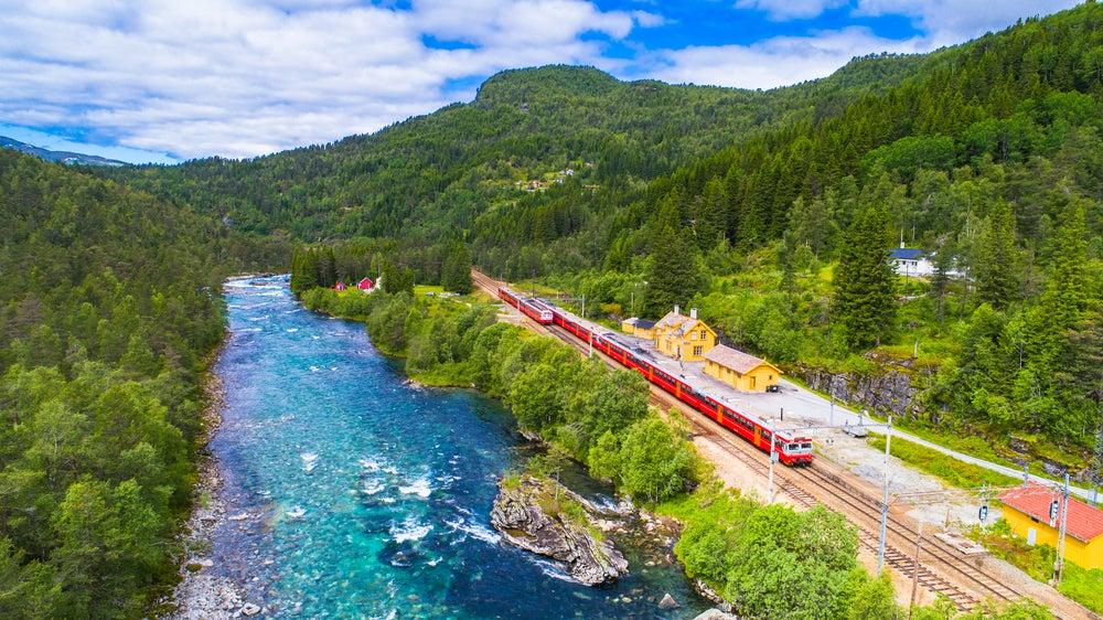 Tren Oslo-Bergen