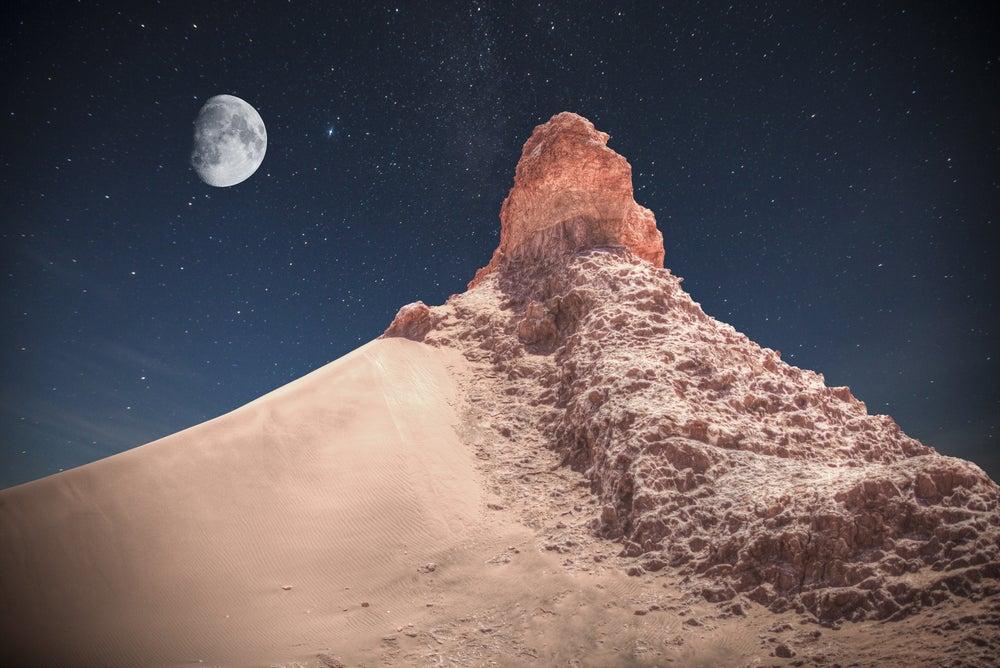 Mirar las estrellas en el desierto de Atacama