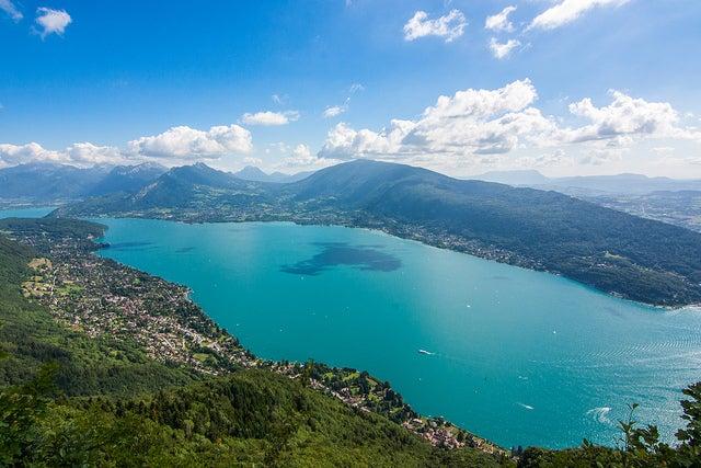 Vista desde Mont Veyrier