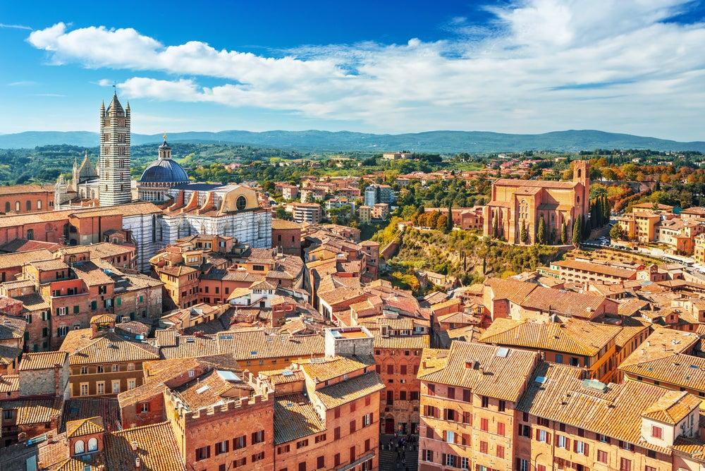 Siena, vista de la ciudad