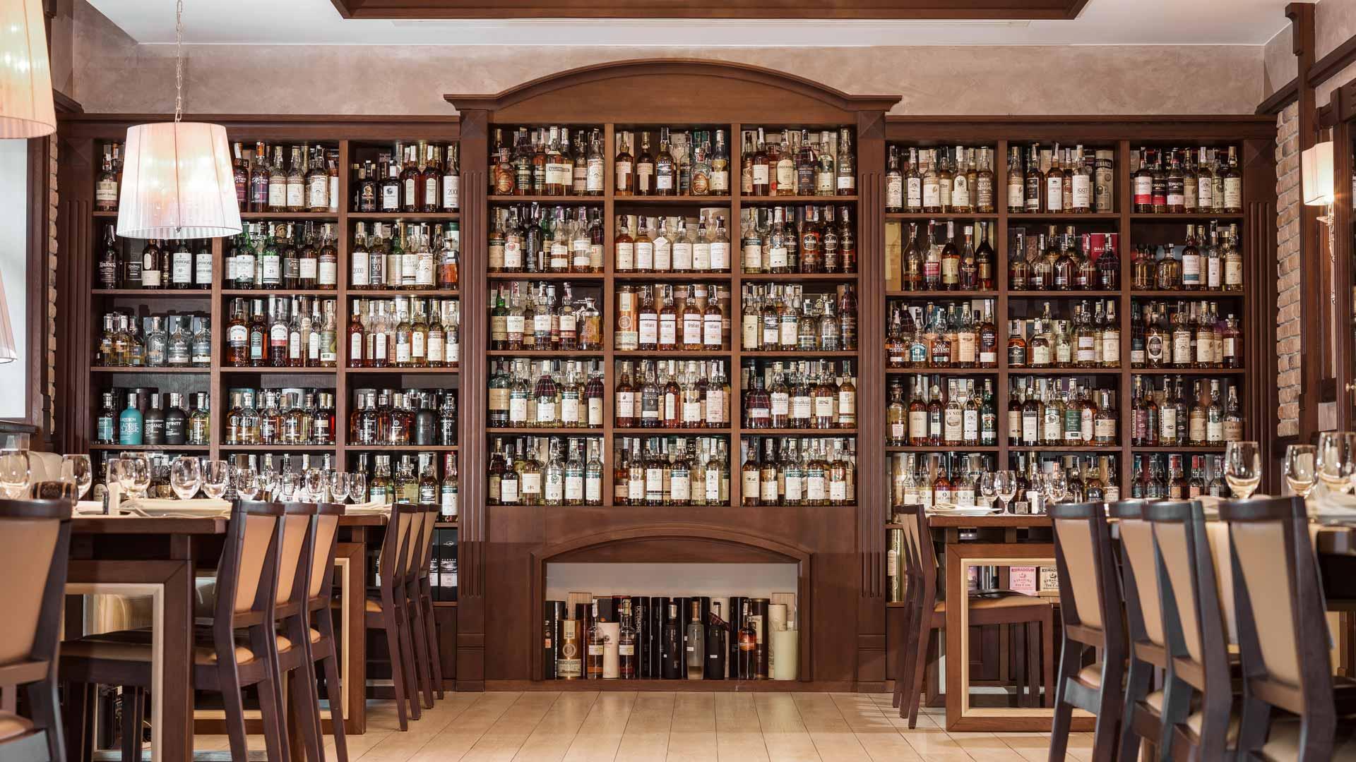 Whisky Corner, para comer cerca de la catedral de Santa Sofía de Kiev