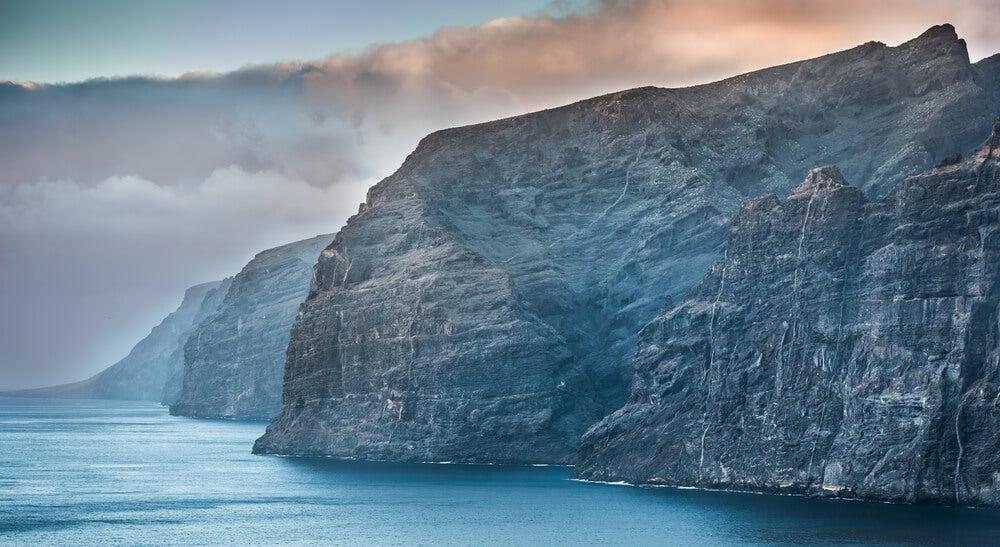 Acantilados de los Gigantes en Tenerife