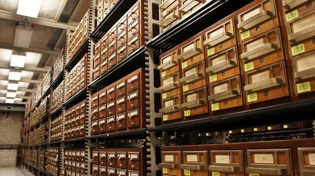 ARchivos en la Biblioteca del Congreso