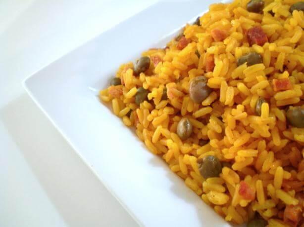 Arroz con guanules, uno de los platos típicos de Panamá