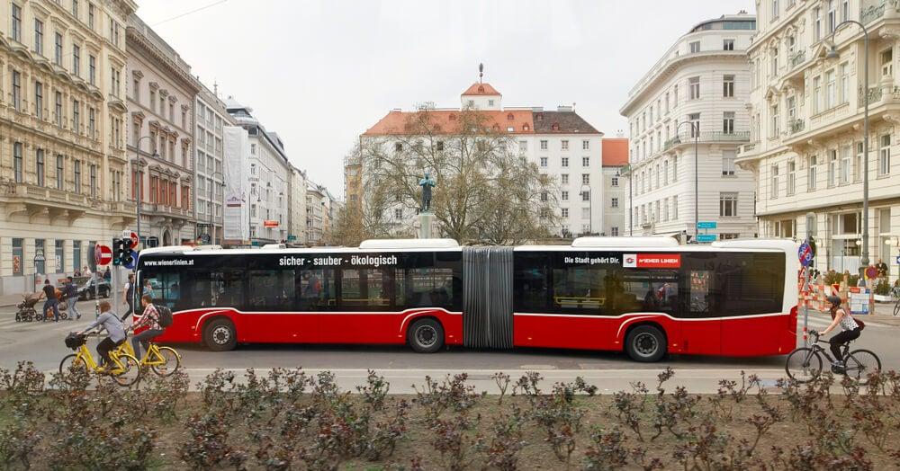 Autobús en Viena