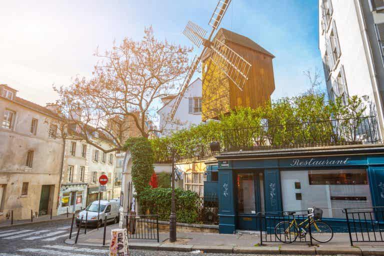 La historia del barrio de los molinos de París