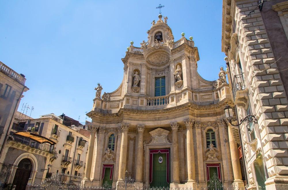 Basílica de la Colegiata en Catania
