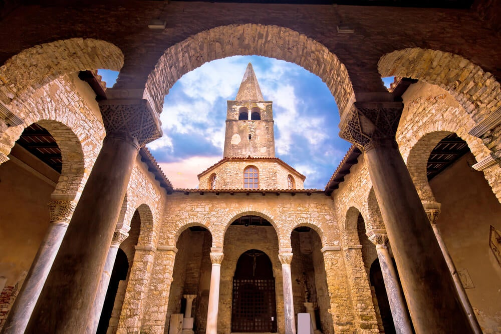 Basílica Eufrásica de Porec en Croacia