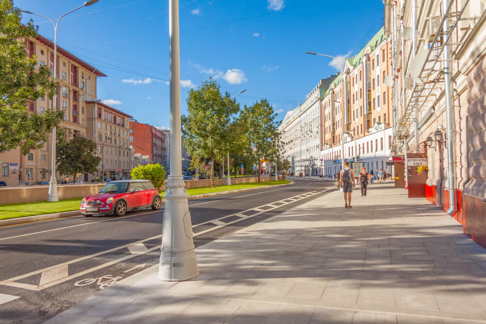 Bulevar Nikitsky para alojarse en Moscú