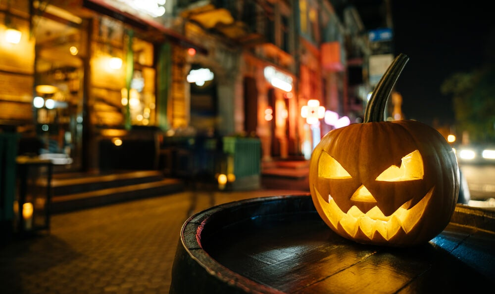 Ciudades que se transforman en Halloween