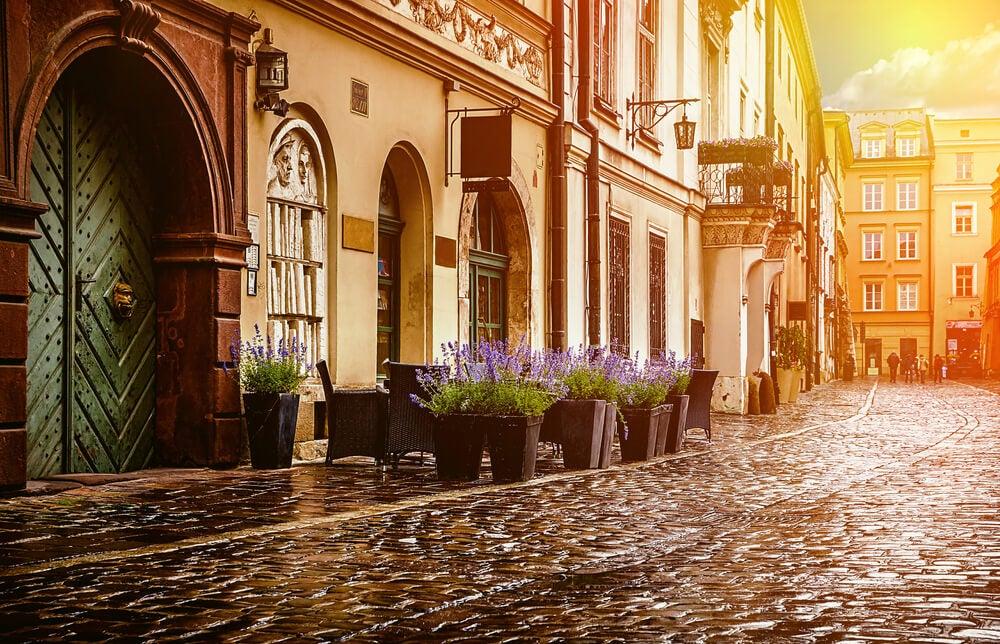 Casco histórico de Cracovia
