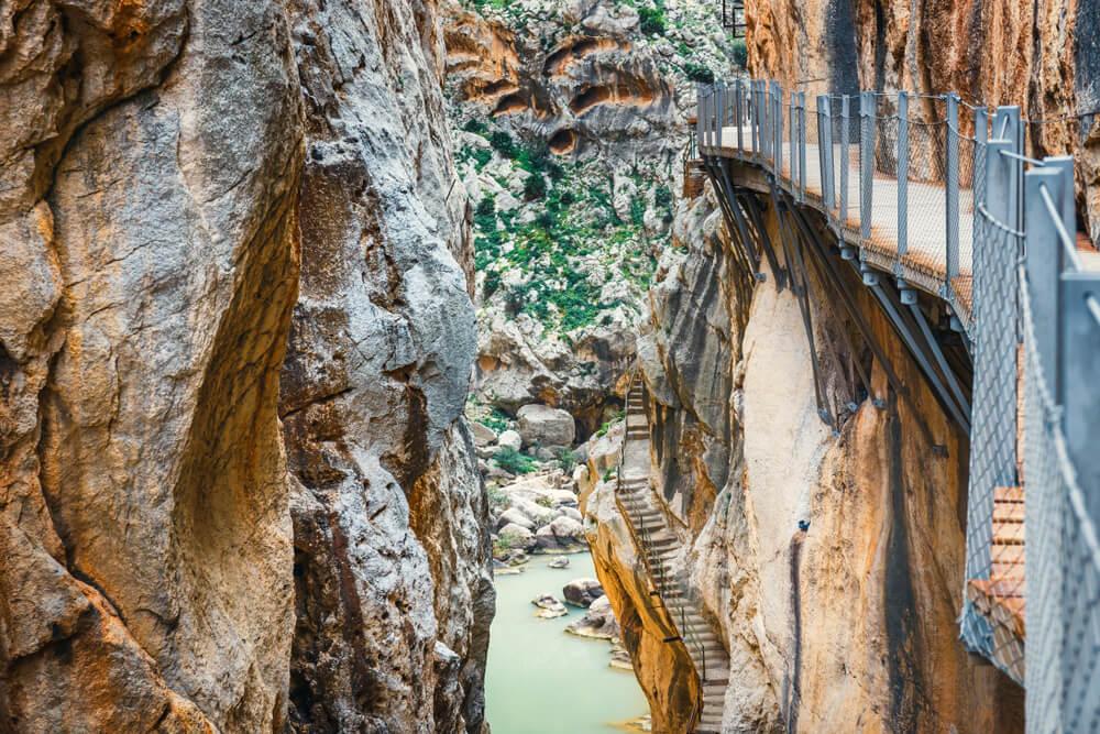 El Caminito del Rey en Málaga, una experiencia única