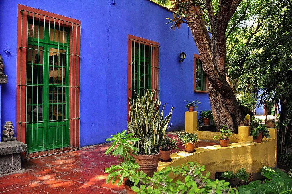 Casa museo de Frida Kalho, en Ciudad de México