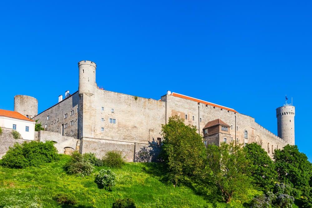 Castillo de Toompea en Tallin