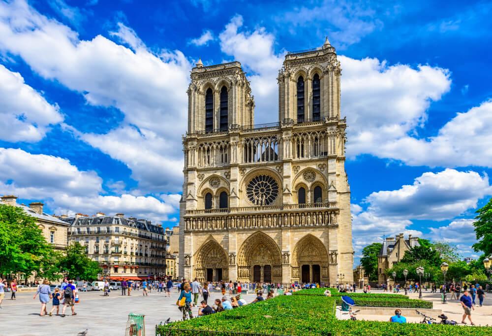 Catedral de Notre Dame, parada cuando se visita París por primera vez