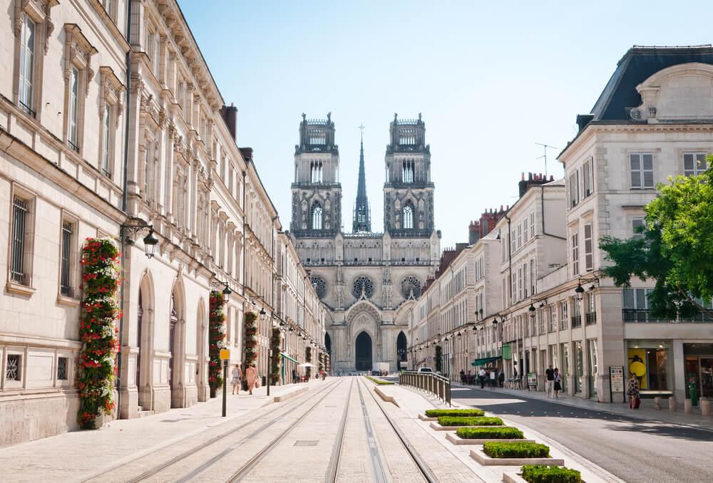 Catedral de la Santa Cruz en Orleans, Francia