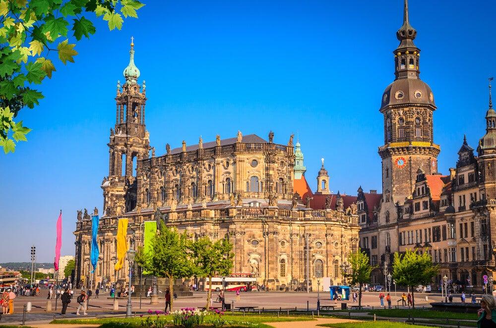 Visita la catedral de la Santísima Trinidad de Dresde