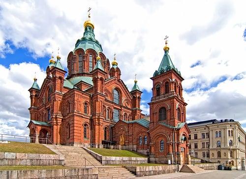 Catedral Upspenski en Helsinki