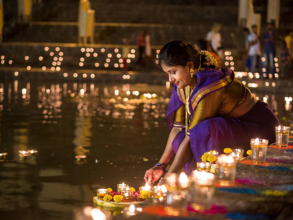 Diwali, vive la fiesta de las luces en la India