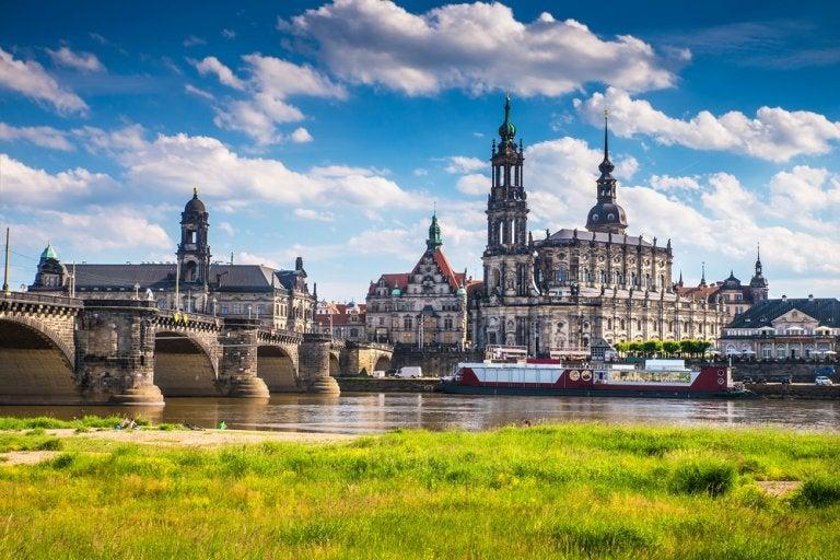Dresde, o la Florencia del Elba, al este de Alemania