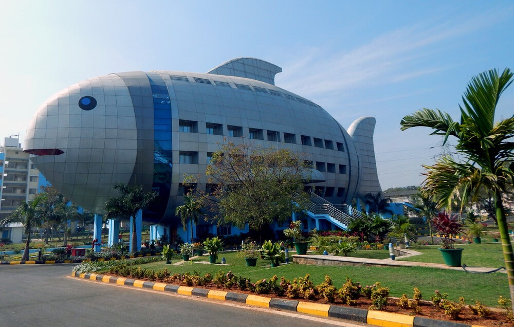 Edificio Pez en India