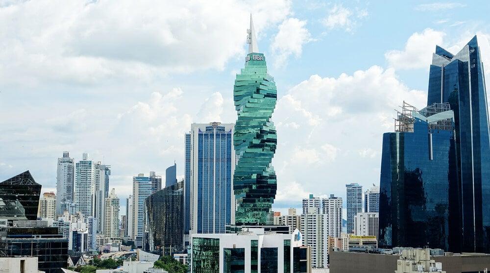 Edificio Tornillo en Panamá