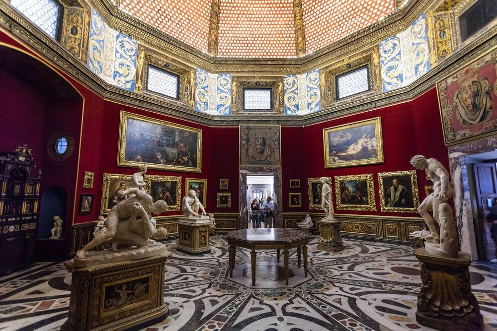 Galería Uffizi, uno de los museos más importantes de Europa