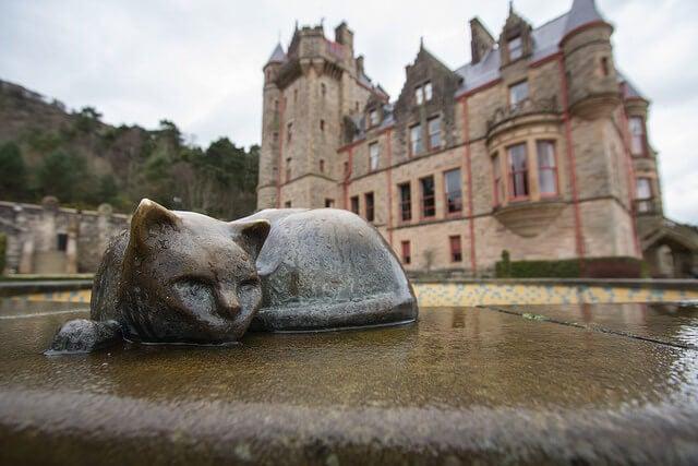 Jardines del castillo de Belfast