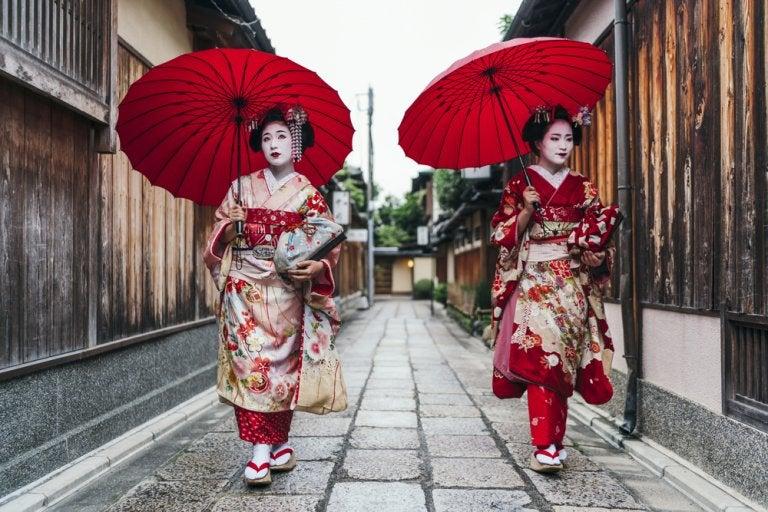 El barrio de Gion en Kioto, el hogar de las 'geishas'