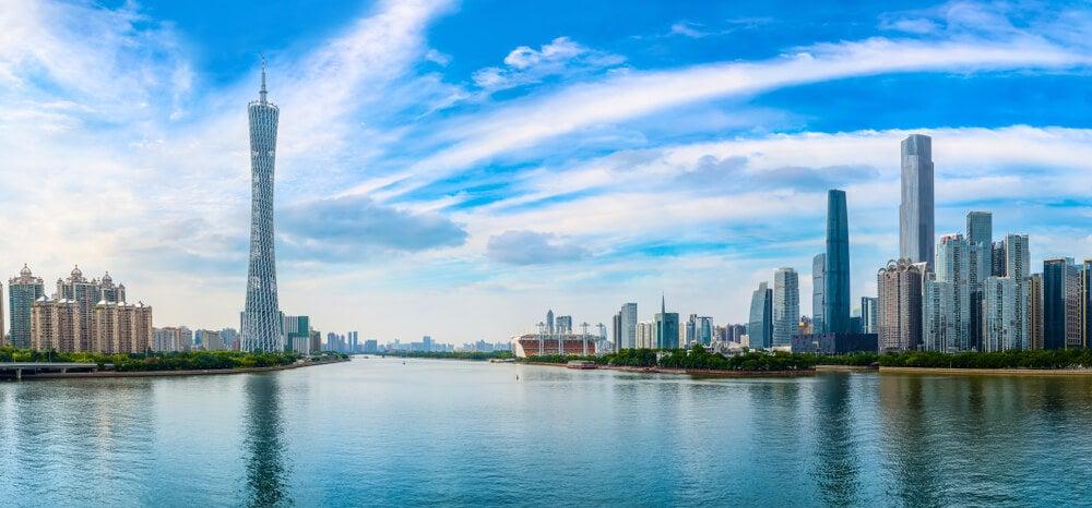Vista de Guangzhou