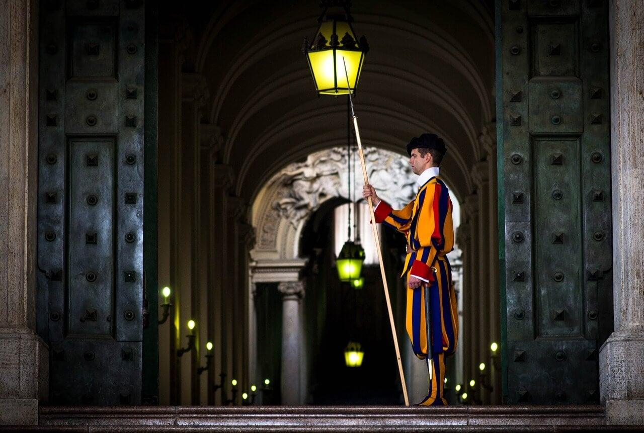 Guardia Suiza en el Vaticano