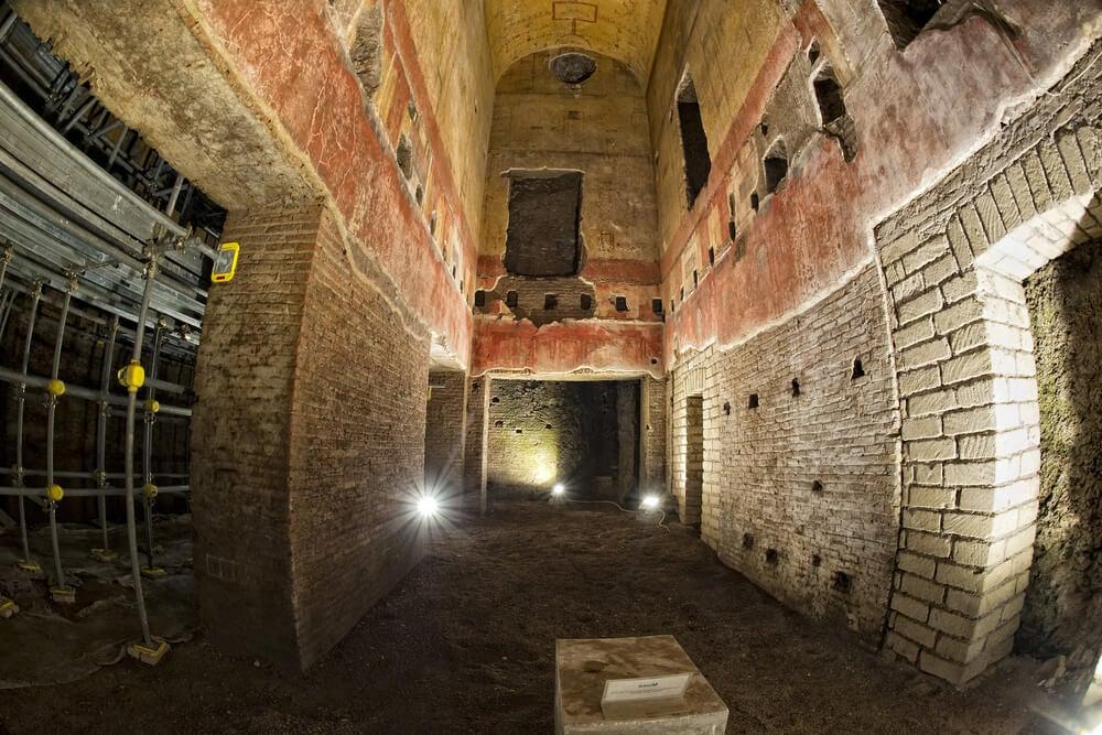 Ruinas virtuales para reconstruir el palacio de Nerón