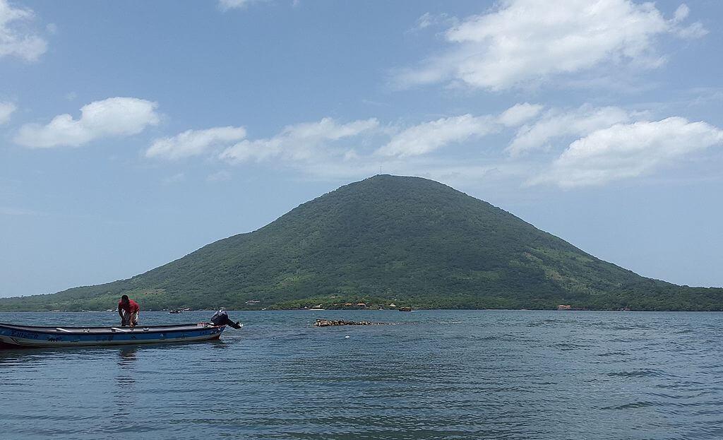 Isla del Tigre en Honduras