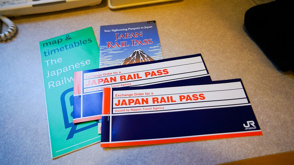 Japan Rail Pass para moverse en trenes en Japón