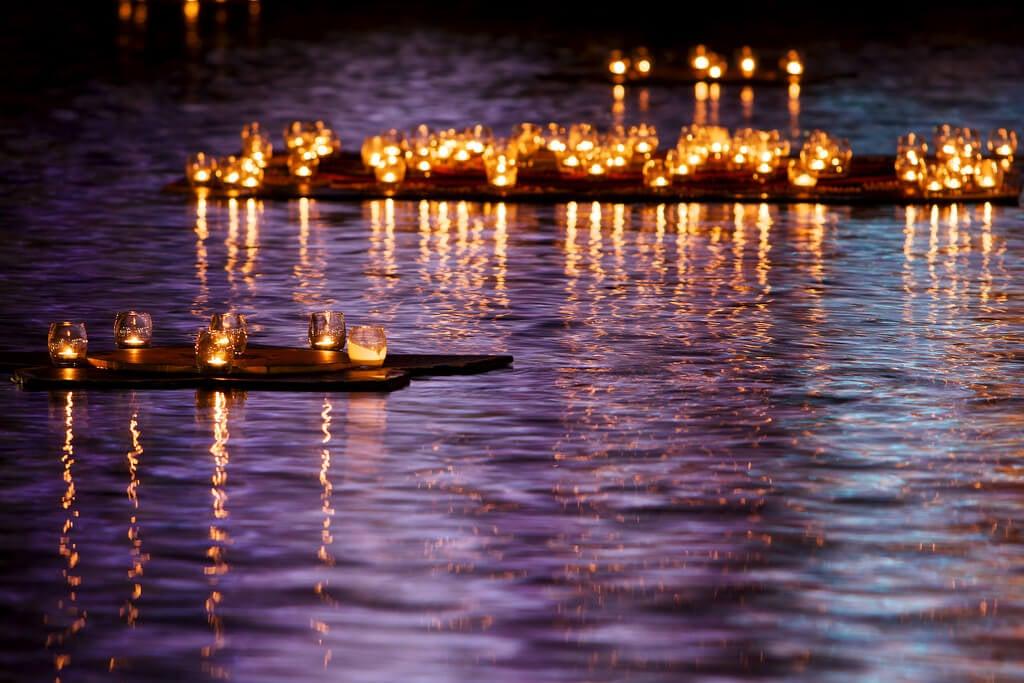 Luces en Diwali