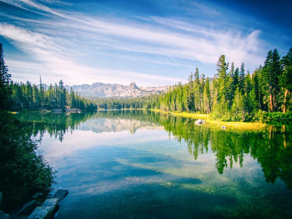 Mamoth Lakes en la Costa Oeste de Estados Unidos