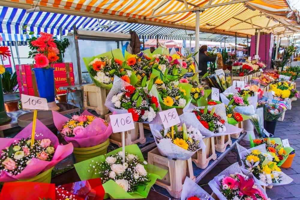 Mercado de las Flores de Niza