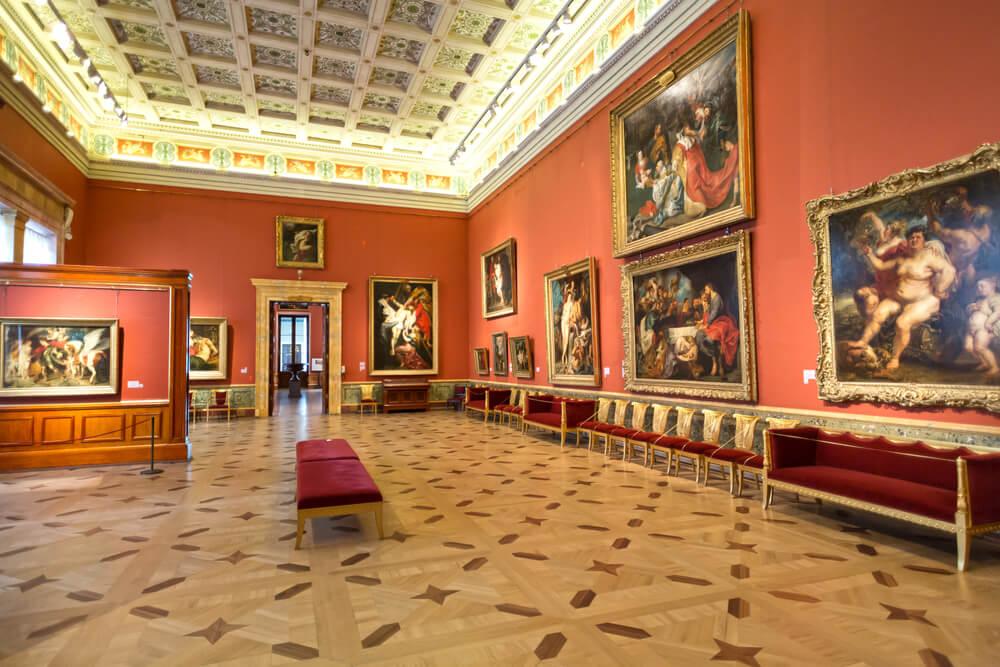 Museo del Hermitage, uno de los museos más importantes de Europa