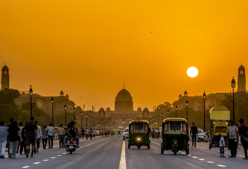 Nueva Delhi, destino en un viaje a la India