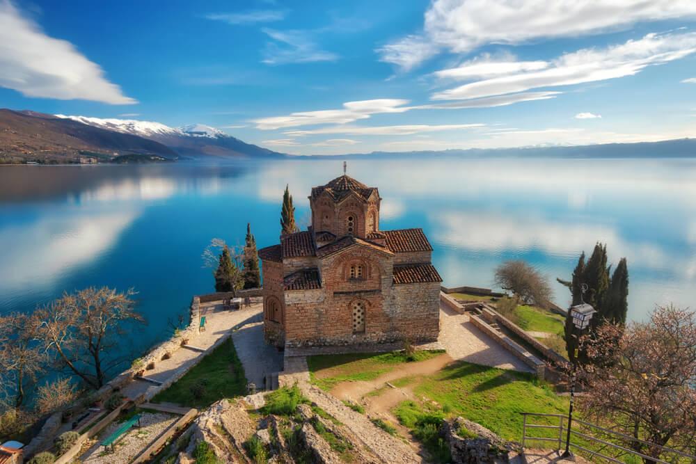 Iglesia de San Juan en Ohrid en Macedonia