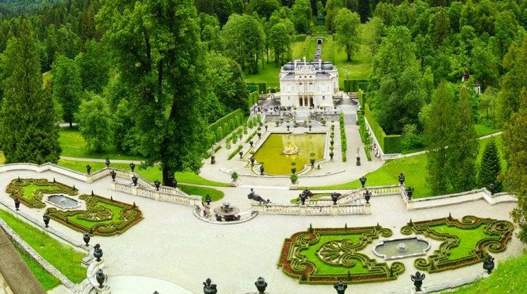 Castillos del Rey Loco: palacio de Linderhof