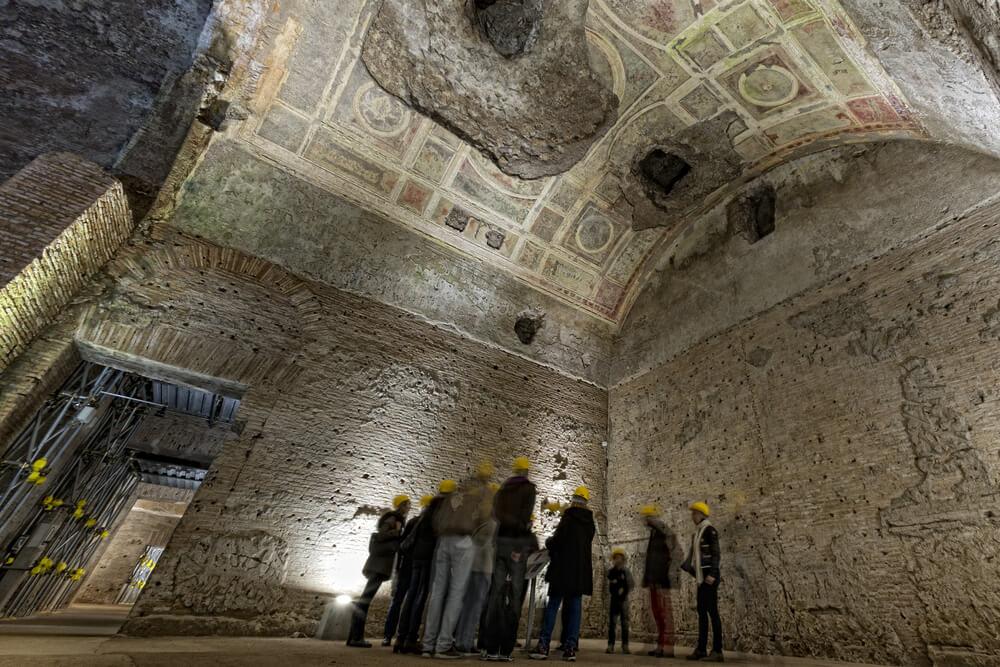 Sala del palacio de Nerón