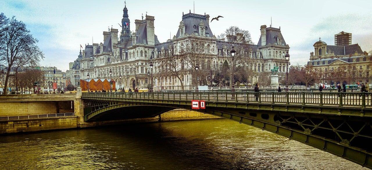París con poco dinero, vista del río Sena