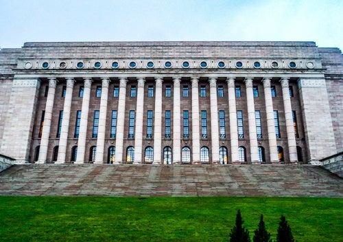 Parlamento en Helsinki