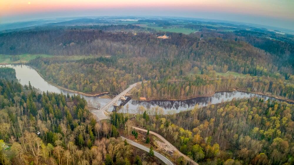 Parque Nacional de Gauja en Letonia