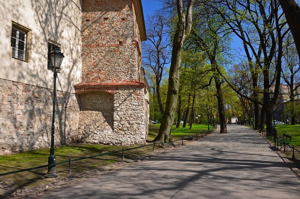 Parque Planty, uno de los lugares de Cracovia que hay que ver