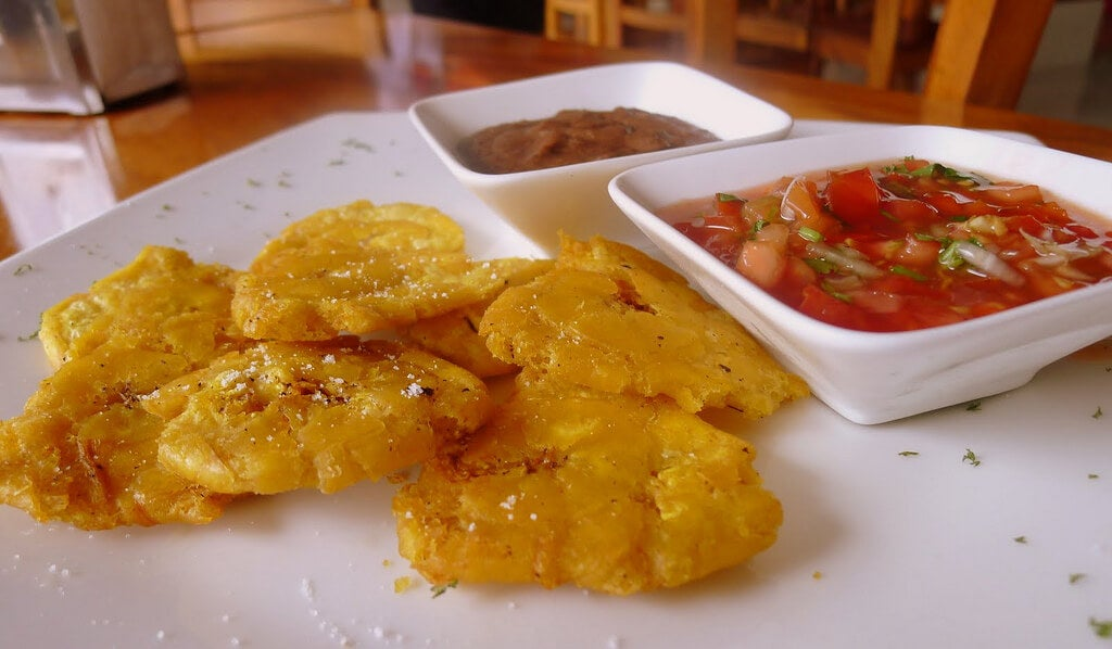 Patacones, uno de los platos típicos de Panamá