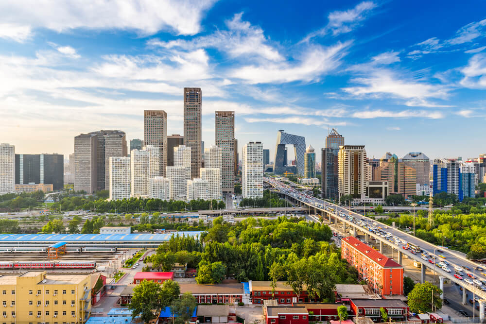Vista de Pekín