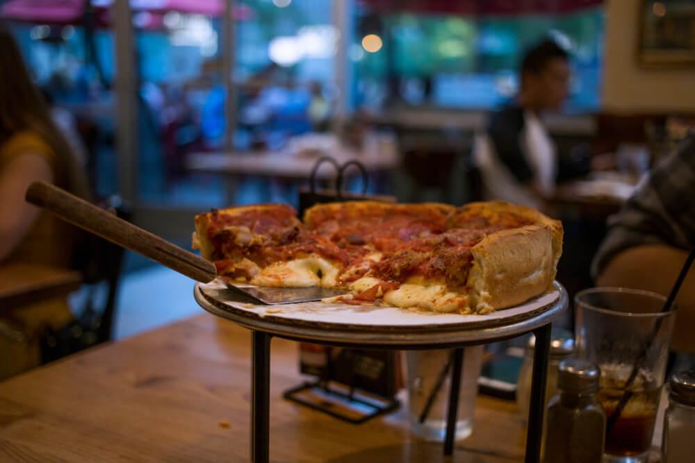 Pizzería en Chicago