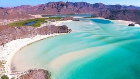 Playa Balandra en México